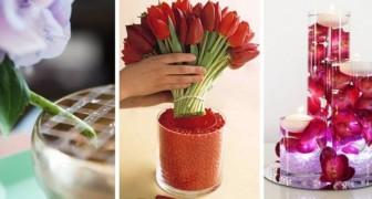 7 consigli brillanti per allestire i nostri vasi fioriti nel modo più scenografico