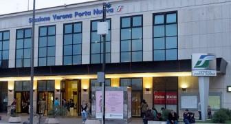 Verona: ex-detenuto positivo al Covid-19 viene trovato a vagare indisturbato nella stazione ferroviaria