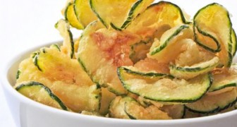 Zucchini chips: a light and healthy snack that takes minutes to make