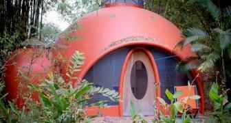 Queste case a cupola sono realizzate con cemento e bolle d'aria: un'alternativa ecologica e a basso costo