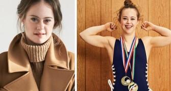 Campeã olímpica e modelo: ela tem Síndrome de Down e uma grande força, que usou para realizar seus sonhos