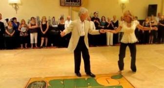 De har dansat tillsammans i över 30 år, det märks på det här numret!