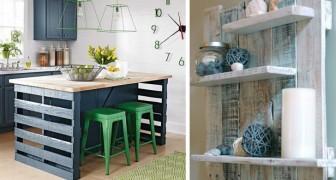 Arredare casa con i bancali: 16 idee originali da cui prendere ispirazione per creare fantastici mobili in legno