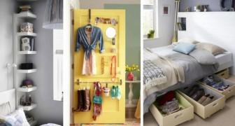19 idee irresistibili per arredare con stile e praticità qualsiasi camera da letto