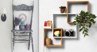 10 idées pratiques et élégantes pour fabriquer des étagères à partir de matériaux recyclés et faire de l'ordre avec style