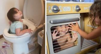 15 grappige foto's laten zien hoe moeilijk het kan zijn om de quarantaine met je kinderen door te brengen