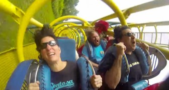 The reactions of the people in the video leaves no doubt: this ride is a blast!