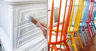 9 truques úteis e originais para pintar móveis antigos e dar vida nova aos ambientes domésticos