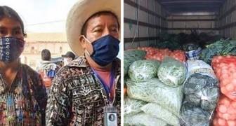 Coronavirus: una coppia di anziani agricoltori dona il suo raccolto alle famiglie in difficoltà