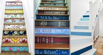 13 idee creative per decorare le scale di casa nei modi più scenografici e fantasiosi