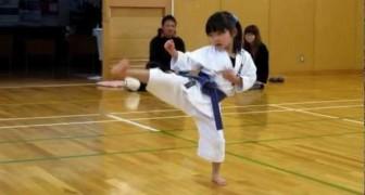 Questa bambina ha solo 5 anni ma la sua disciplina è spettacolare