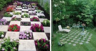 12 spunti creativi per arredare il giardino e organizzare gli spazi con le piastrelle da esterno
