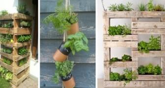 12 idee una più bella dell'altra per allestire un angolo dedicato alle erbe aromatiche in giardino
