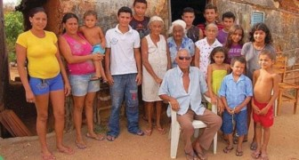 A 90 year old man claims to have 50 children: 17 with his wife, 15 with his sister-in-law, and one with his mother-in-law