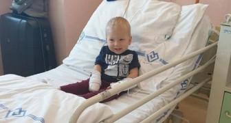 Maxik, 2 år gammal, har fått den första dosen av den dyraste medicinen i världen, föräldrarna hoppas att allt ska gå bra
