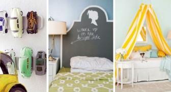 10 decorazioni adorabili e fantasiose per dare un tocco di allegria alle camerette dei bambini