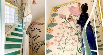 Cette femme a profité du confinement pour transformer toute sa maison en une merveilleuse explosion de fleurs et de couleurs