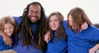 Een alleenstaande vader die zonder ouders is opgegroeid adopteert 3 weesjongens: Ik wil de vader zijn die ik nooit heb gehad