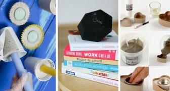 10 trovate brillanti per creare strepitose decorazioni usando il cemento