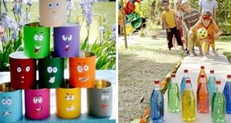 10 giochi fai-da-te all'aria aperta da proporre ai vostri bambini durante il tempo libero