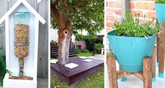 14 deliziosi progetti creativi per trasformare ogni angolo del giardino in uno spazio accogliente e colorato