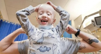 This 4-year-old boy managed to defeat Coronavirus despite fighting cancer
