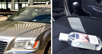 Brandkåren varnar för riskerna med att lämna handsprit i bilen under solen