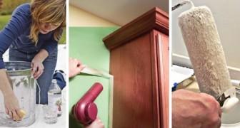 13 dritte utili per realizzare lavori di tinteggiatura e pittura come dei veri professionisti