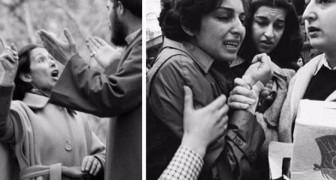 8. März 1979: Eine Fotoreportage zeugt vom letzten Tag ohne den Schleier der Frauen im Iran