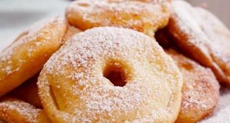 Buñuelos de manzana: los simples pasos para prepararlos al horno con 3 ingredientes y en poco tiempo