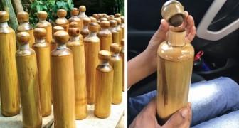 Dans un village de l'Inde, des bouteilles en bambou seront données aux touristes pour réduire la pollution plastique