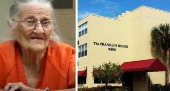 Una donna di 94 anni è stata arrestata per non aver pagato l'affitto della sua casa di riposo