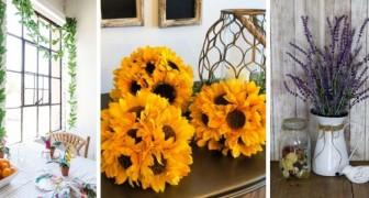 13 proposte facili e creative per realizzare decorazioni in stile rustico e dare il benvenuto all'estate