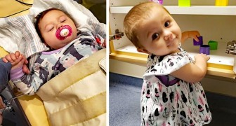 Molly, the 21-month-old girl who has beaten advanced cancer after over a year of treatment