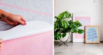 Il metodo semplice e super-veloce per realizzare quadri moderni con rotoli di carta adesiva