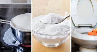9 utilizzi alternativi del bicarbonato di sodio da tenere a mente per effettuare al meglio le pulizie di casa