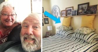 Elke dag fotografeert een vrouw de pogingen van haar man om het bed op te maken: het resultaat is hilarisch