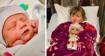 Una bimba di 4 anni dona il midollo osseo al fratellino affetto da una rara malattia, salvandogli la vita