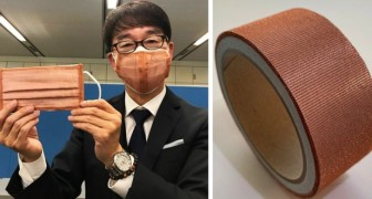 Japan: er is een koperen vezelmasker gemaakt dat belooft Covid-19 binnen 4 uur te neutraliseren