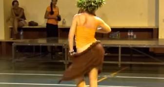 I movimenti di questa ballerina sono davvero unici nel loro genere