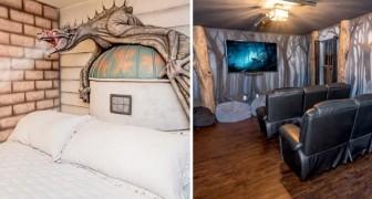 Dit hotel heeft 8 kamers die gasten naar de magische wereld van Harry Potter brengen