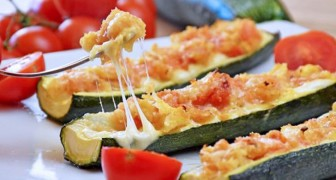 Caprese stuffed zucchini boats: a fast and tasty recipe that will wow everyone at the dinner table