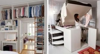 Les solutions pratiques et ingénieuses pour meubler une petite chambre sans l'encombrer