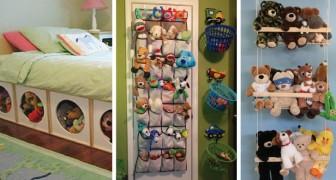 15 soluzioni super-pratiche per tenere in ordine i giocattoli in casa e metterli a posto in pochi minuti