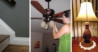8 dritte utili per occuparsi delle pulizie negli angoli più difficili e trascurati della casa