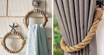 10 idee affascinanti per arredare con la corda e dare agli ambienti uno stile rustico ma elegante