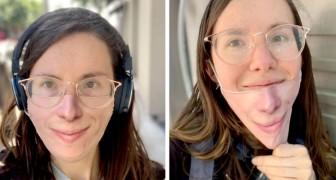 Una ragazza ha creato una linea di mascherine protettive su cui è possibile stampare il proprio volto