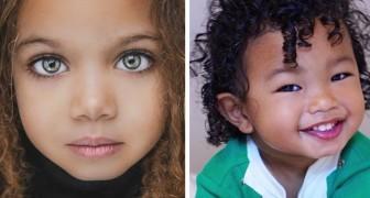 15 foto mostrano tutta la bellezza dei bambini nati da matrimoni misti