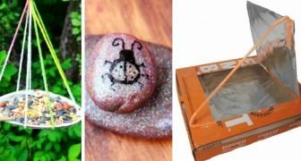 6 attività divertenti adatte ai bambini per ricreare l'atmosfera di un campo estivo anche a casa