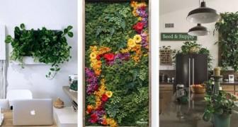 8 modi creativi per inserire le piante nell'arredamento di casa e creare splendidi angoli verdi